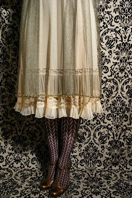 modern victorian fashion | The dresses and blouses are dreamy and flutter with the rustle of silk ...