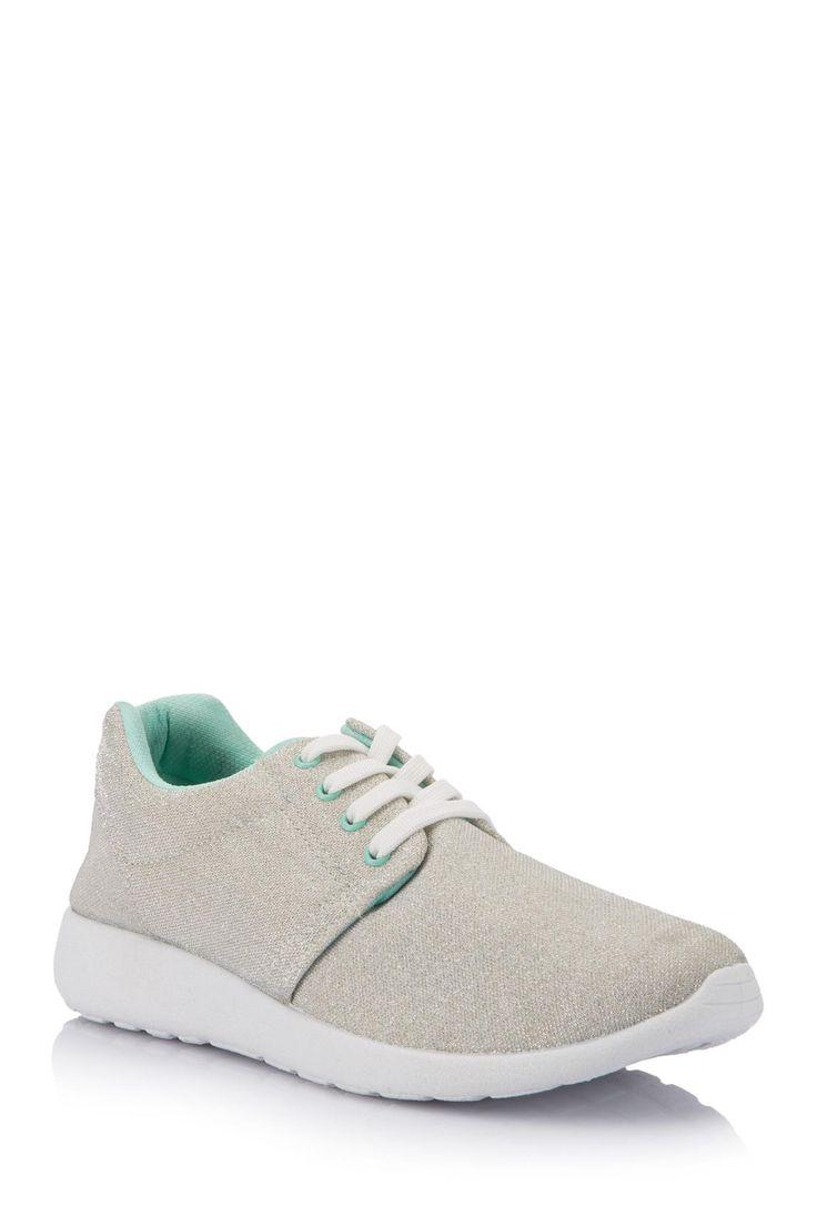 Gümüş Kadın Bağcıklı Ayakkabı 671503 | DeFacto