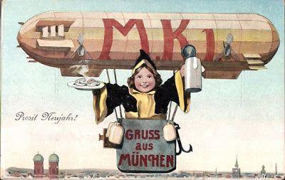Munich and Co: Oktoberfest: Le Münchner Kindl du jour fait du zep...