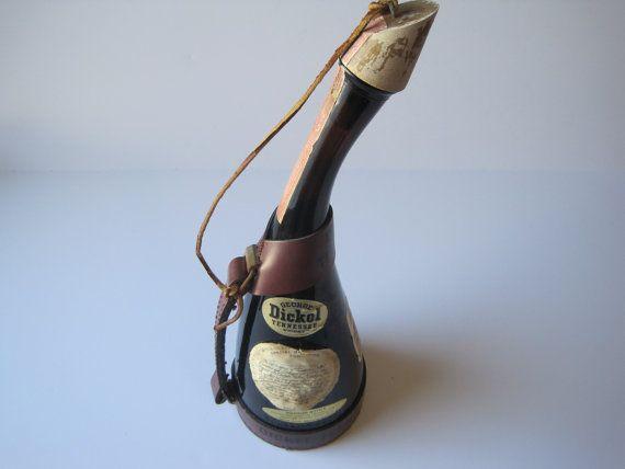 George Dickel Whiskey Bottle 1964 Star Trek by ElsasAttic on Etsy, $25.00