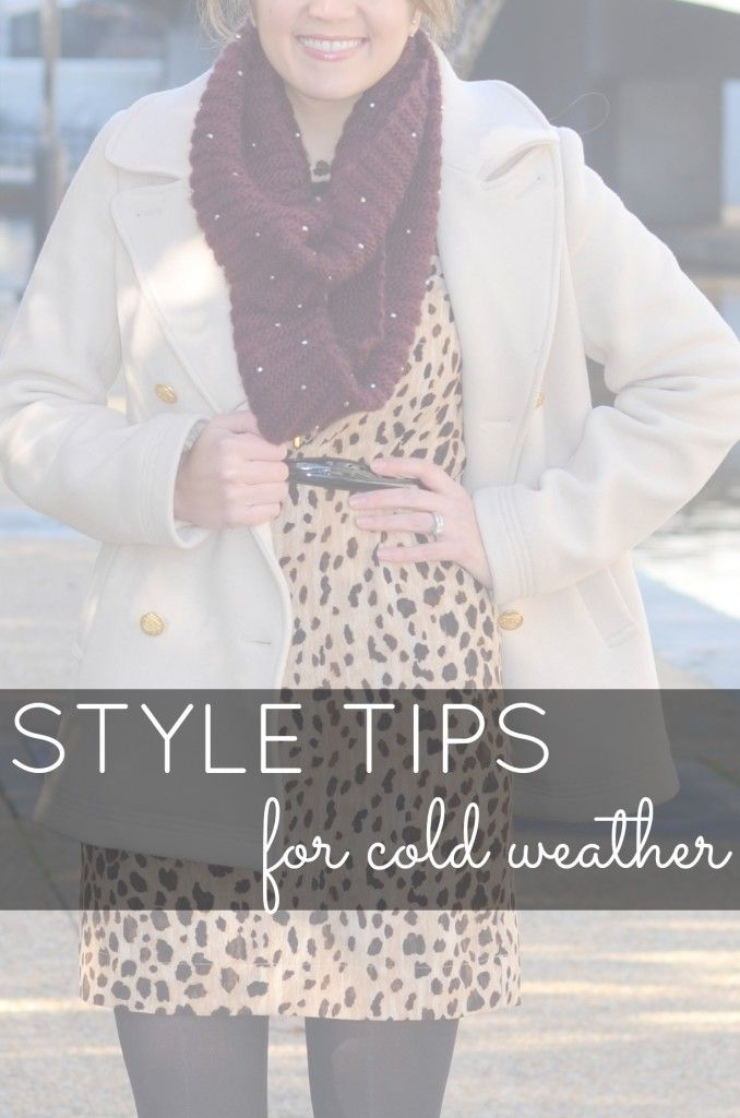My Best Style Advice for Cold Weather Days - Fizz and FrostingFizz and Frosting