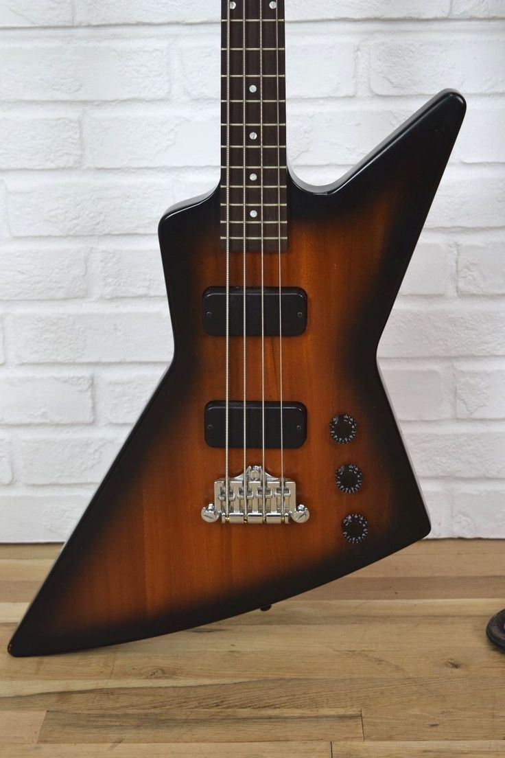 Gibson Explorer Bass 2012 satin Excellent!-used electric bass guitar for sale