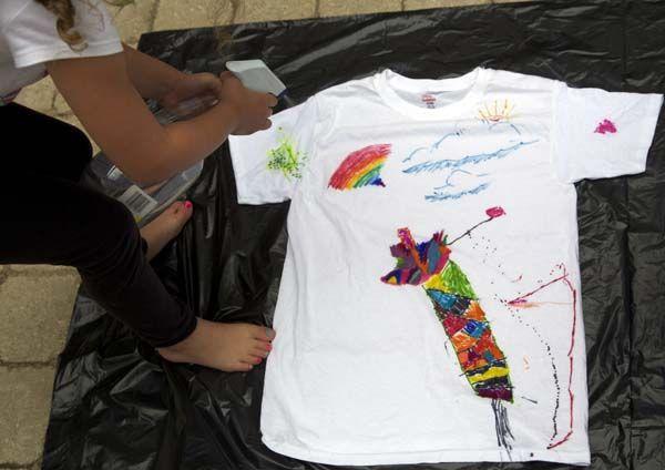 Sharpie t-shirt craft