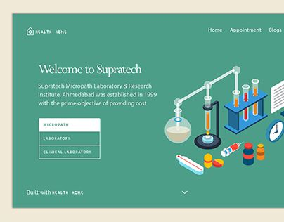 """Check out new work on my @Behance portfolio: """"laboratory website"""" http://be.net/gallery/51444397/laboratory-website"""