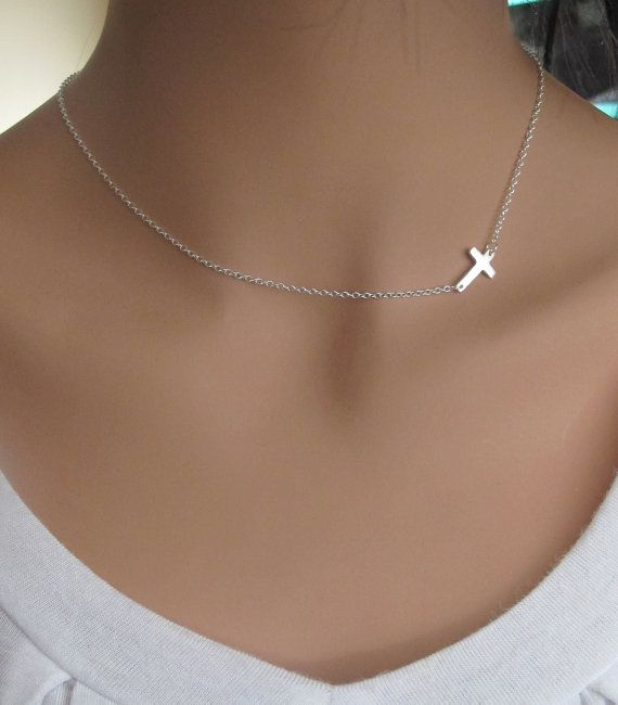 Argentino Vino- personalized script name with cross necklace (Nordstroms)
