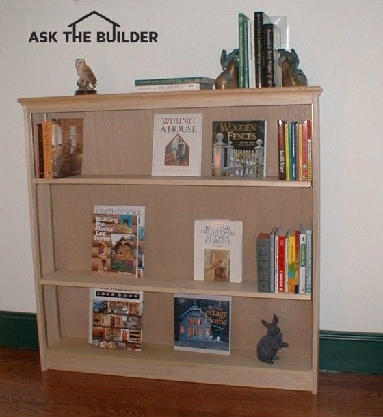 Simple Wooden Bookcase Plans WoodWorking Projects Plans