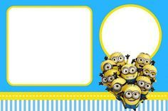 tarjetas de cumpleaños de minions para imprimir gratis