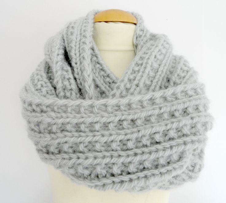 tuto snood femme tricot