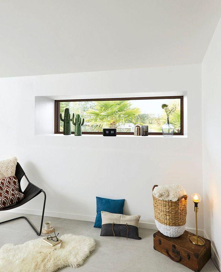 53 best Intérieurs images on Pinterest Bedroom, Master bedrooms - peinture sur pvc fenetre
