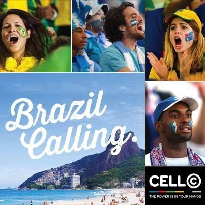 The 2014 Brazil World Cup is around the corner. Stand a chance of winning an all expenses paid trip to Brazil and experience the football action live. Competition details coming soon on cellc.co.za