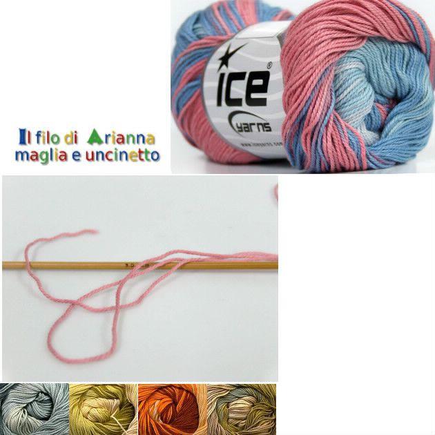 100 % cotone http://ilfilodiarianna.yarnshopping.com/gentle-magic-salmone-tonalit-del-blu#inc97