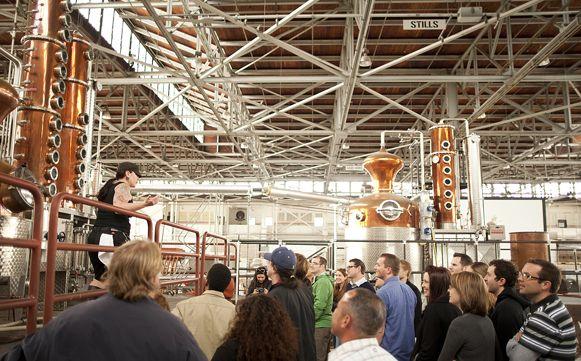 St. George Distillery tours in Alameda, CA