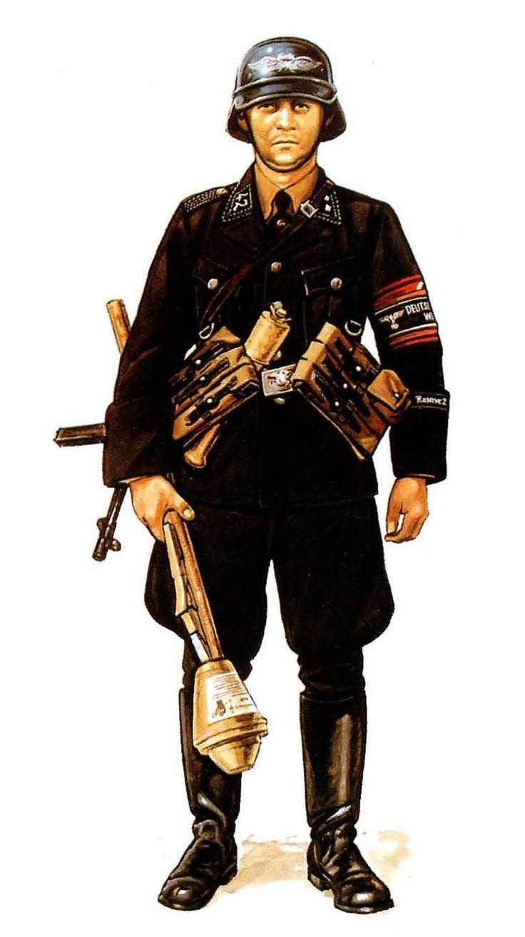 NCO de la Volkssturm, primavera de 1945