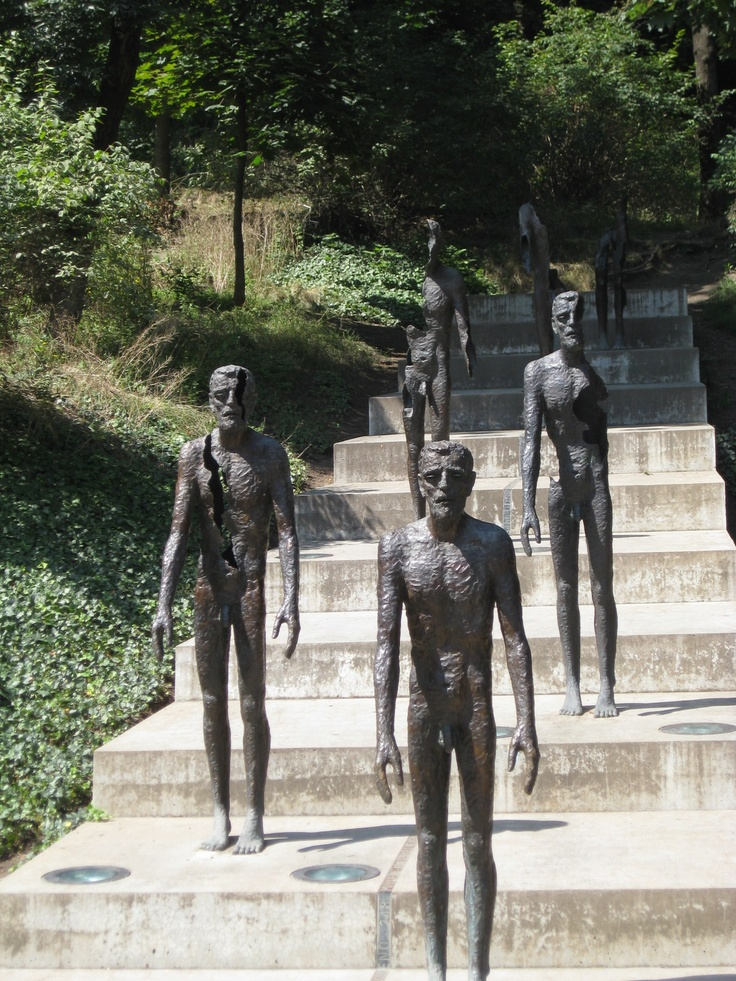 Monument to victims of communism, Petrin Hill, Prague