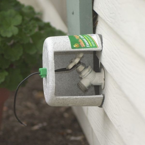 Fall Plumbing Tips Cover Outside Faucets Using A Styrofoam Faucet Insulation Kit Available At Home Centers Heating And Plumbing Diy Plumbing Plumbing