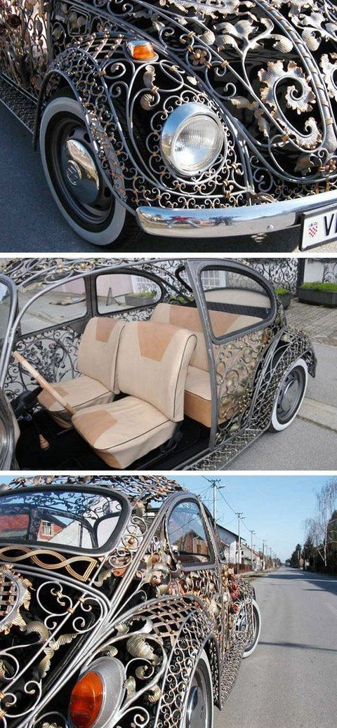 Metal cut-out VW Beatle....GIVE MEEE!!!!!!!!!