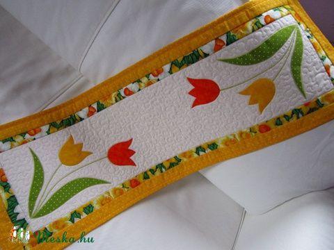 Húsvéti ( tavaszi) asztali futó  (edesotthon) - Meska.hu
