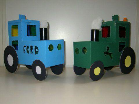tractor lampion