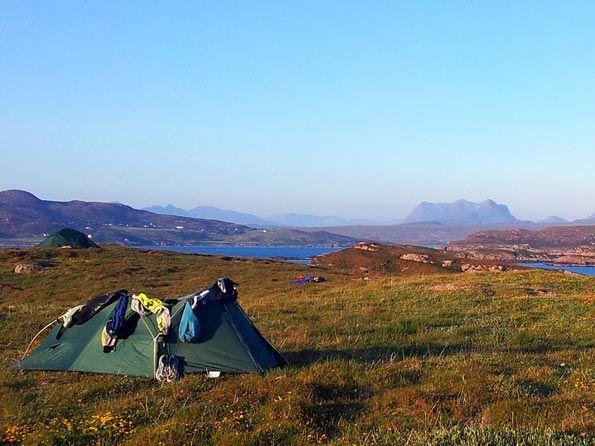 Wild Camping Scotland. OS Maps!