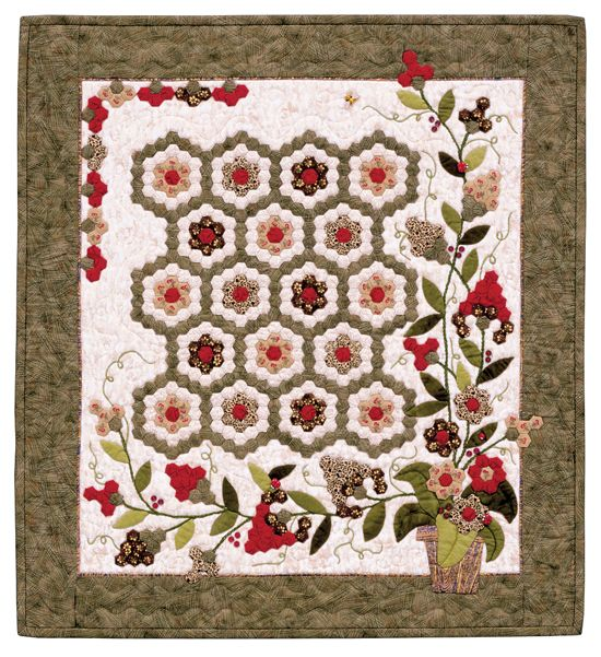 Traditional Grandmother S Flower Garden Combined With