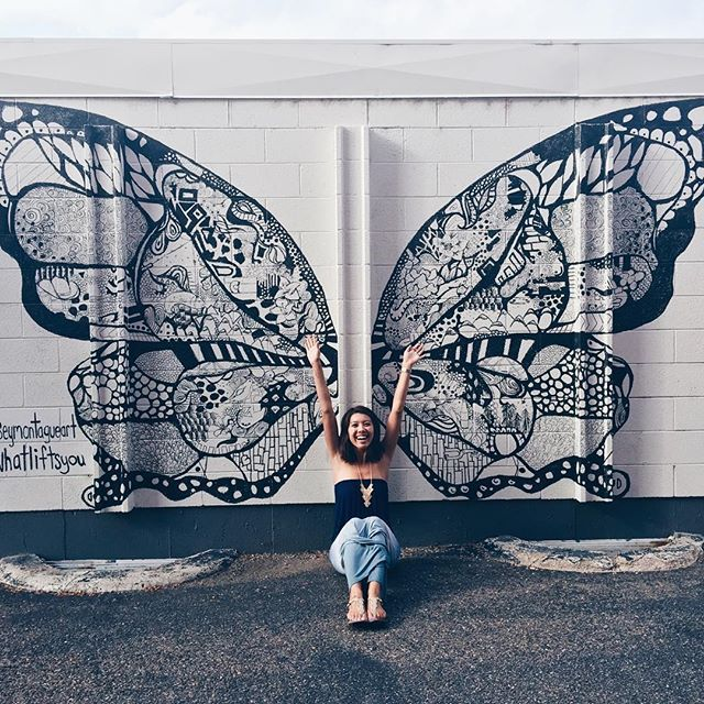 What Lifts You street art in downtown Littleton, by Kelsey Montague.  #vscocam #whatliftsyou #darlingweekend