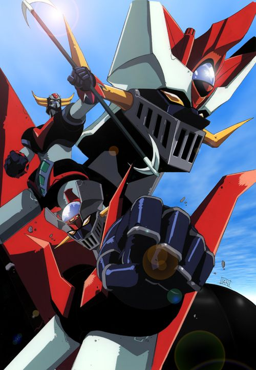 "Mazinger Z  our French ""goldorak"" - my childhood...;)"