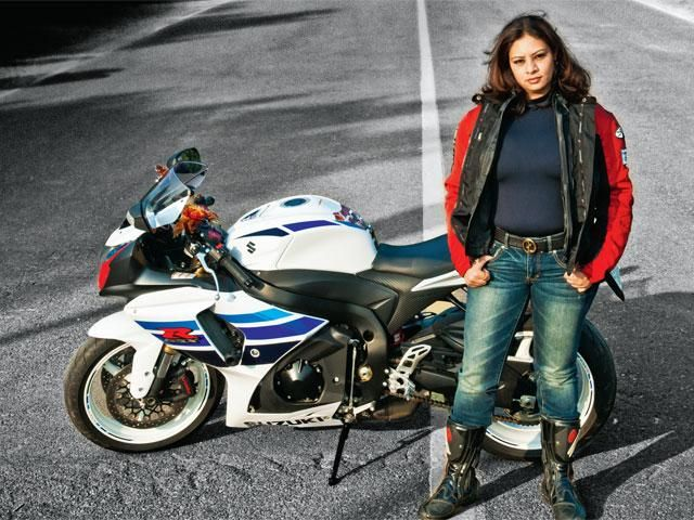 Slideshow : Women overcoming the gender stereotype, now riding superbikes - Women overcoming the gender stereotype, now riding superbikes | The Economic Times