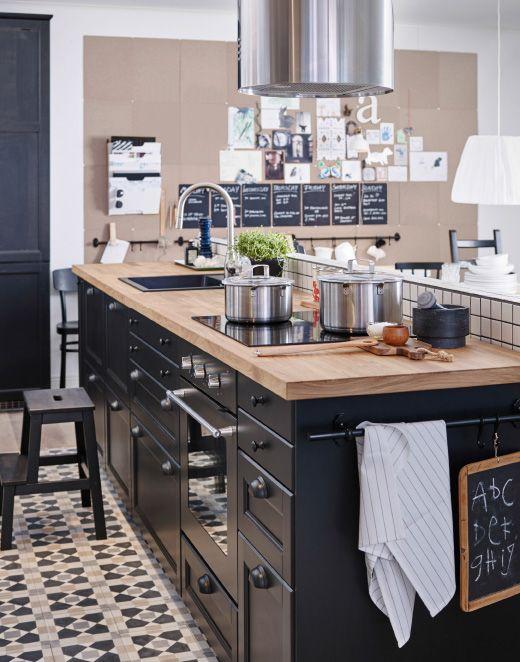 Une cuisine avec de la place pour chacun tous les jours