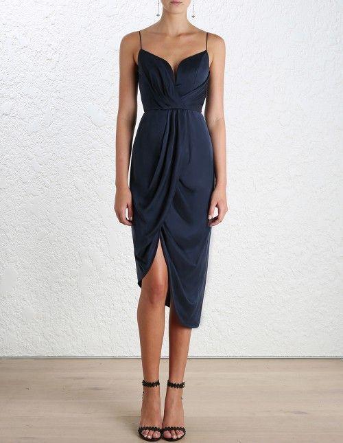 Sueded Silk Plunge Dress, aus unserer Spring 16 Ko…