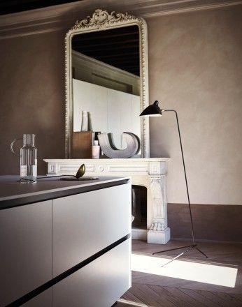 Maxima 2.2 - Collection Neve ceramic white bush-hammered stoneware  #kitchen #interiordesign #Cesarkitchen