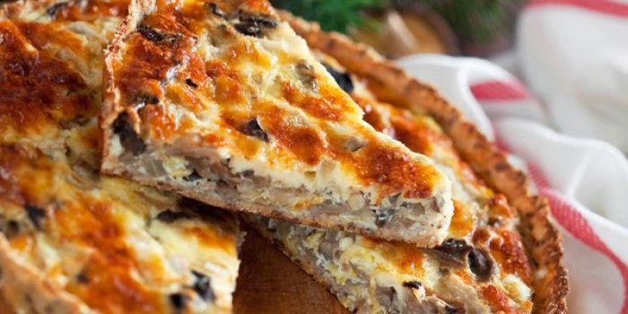 Τάρτα με μανιτάρια  #cookworld #ταρτα #συνταγεςμαγειρικης
