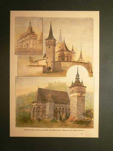 Küküllővidéki templom-erődök Alsó-Bajomban, Muzsnán és Szász-Kézden.   bookline