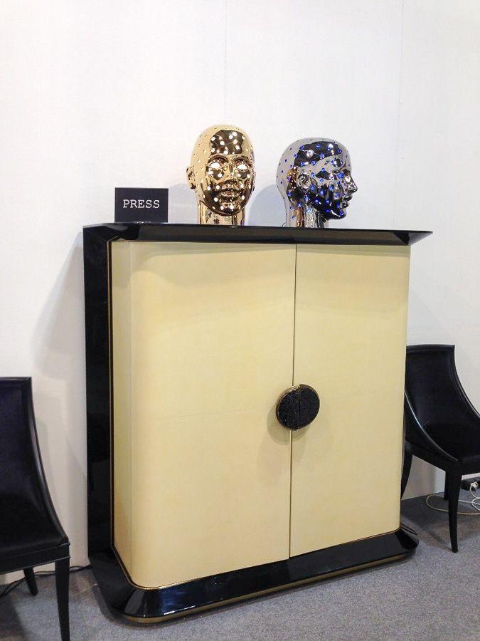 Шкаф в стиле современный Арт-деко