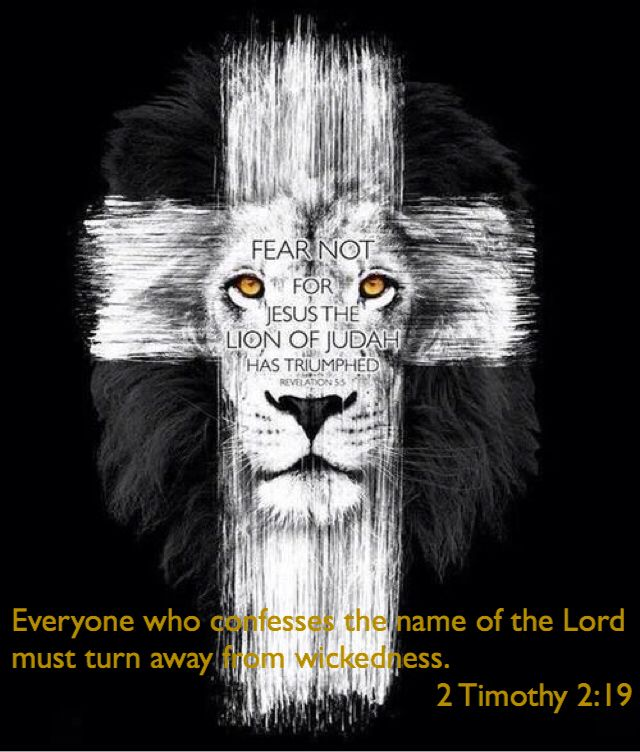 Who confesses the name of the Lord.