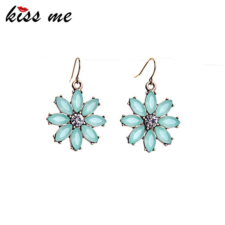 Sweet Style Simple Flowers Drop Earrings Simple Party Jewelry New Fashion Earrings for Women Birthday Gift