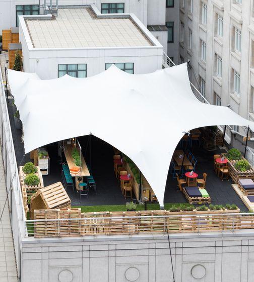 queen elizabeth roof garden cafe bar 21 best top 20 rooftop bars in london images on pinterest