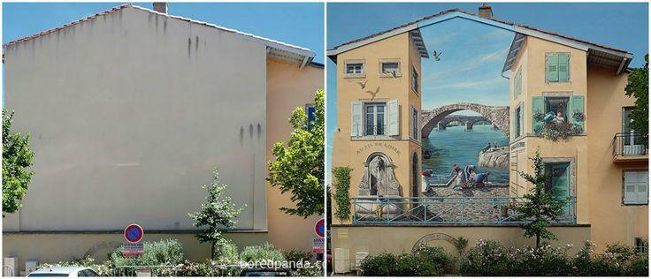 O grafite também é um importante catalisador na revitalização dos grandes centros urbanos, transformando espaços públicos abandonados em galerias a céu aberto,