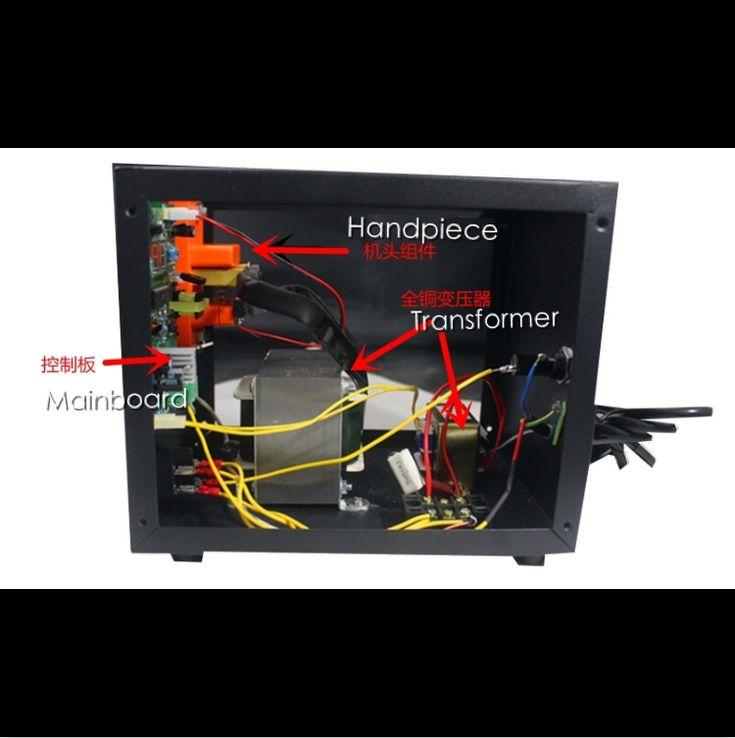 the main transformers(two transformers) of the microcomputer control spot welding high-power spot welder battery welding