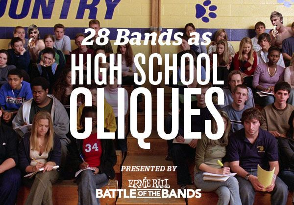 Where would your favorite band have sat in the cafeteria?