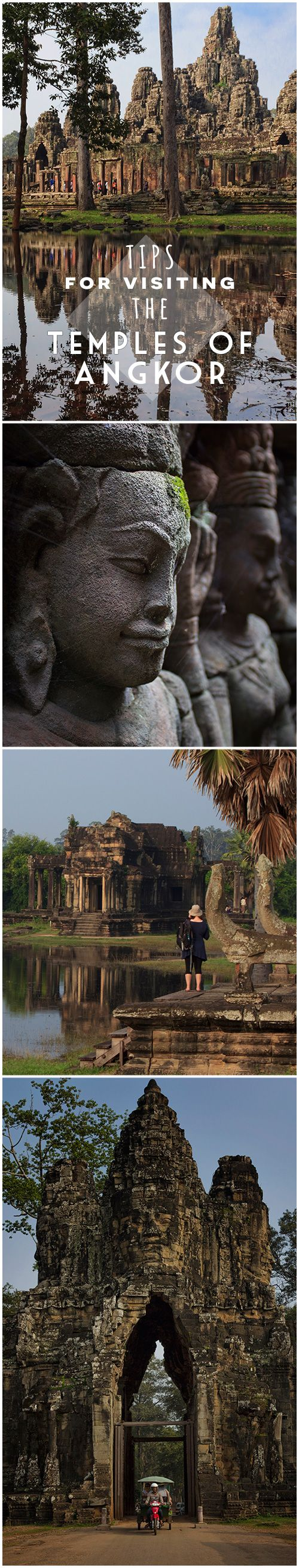 Tips and suggestions for planning at visit to the Temples of Angkor, Cambodia. #traveltips