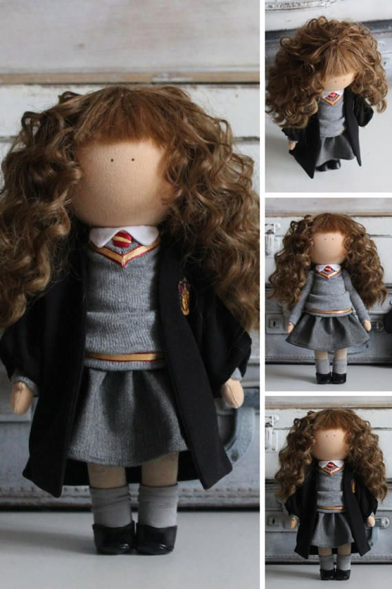 Hermione doll Movie Doll by photo Portrait by AnnKirillartPlace