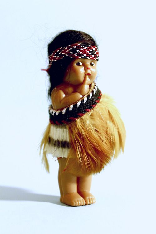 Maori Doll - I used to have one of these.