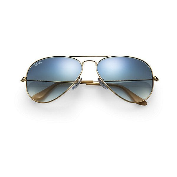 AVIATOR GRADIENT (9.320 RUB) ❤ liked on Polyvore featuring accessories, eyewear, sunglasses, aviator sunglasses, gold aviator sunglasses, aviator style glasses, gold sunglasses and aviator eyewear