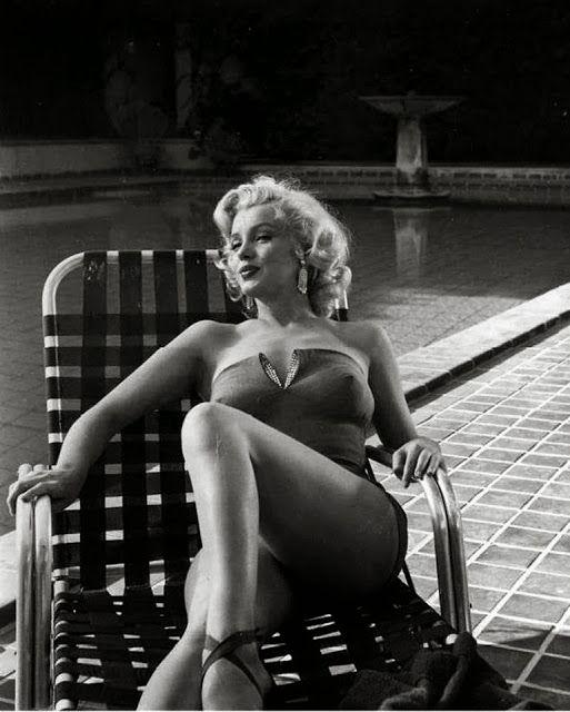 старинные каждый день: Фотосессии Мэрилин Монро по Гарольда Ллойда в 1953 году