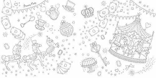 """""""かわいい""""の魔法にかかる 夢色ファンタジー塗り絵 (大人の塗り絵)"""