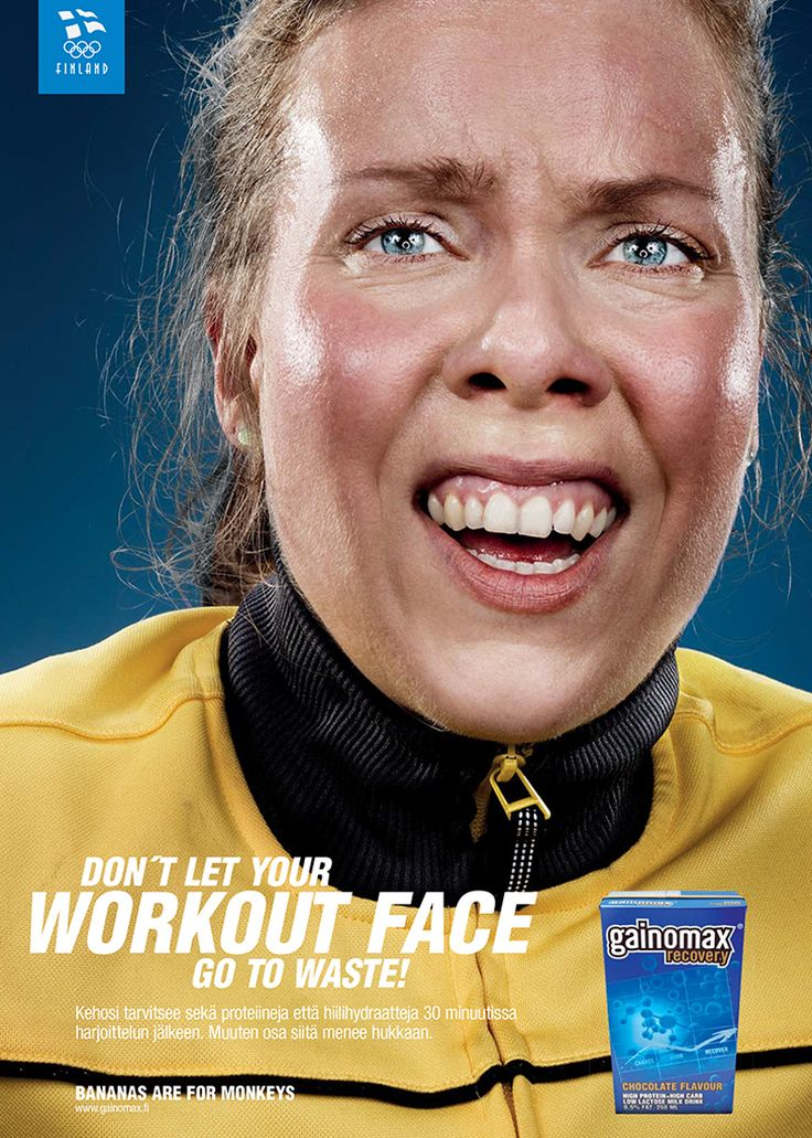 GAINOMAX WORKOUT FACE on Behance