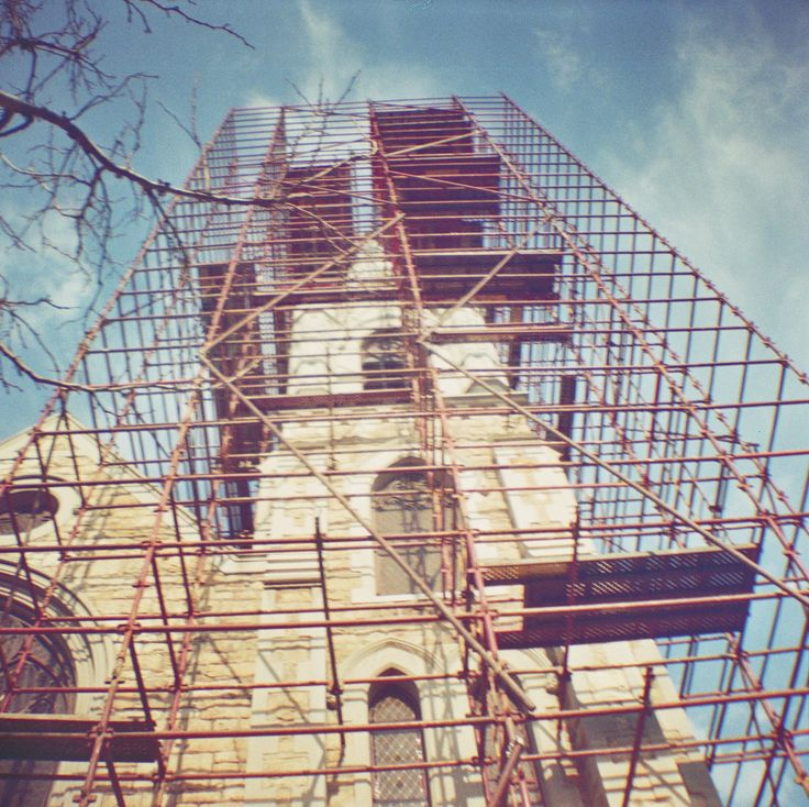 Lomography - Diana Mini - Architecture - Touch up