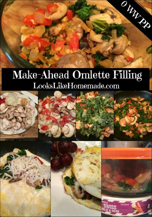 Make Ahead Omelette Filling - #weightwatchers 0 PP