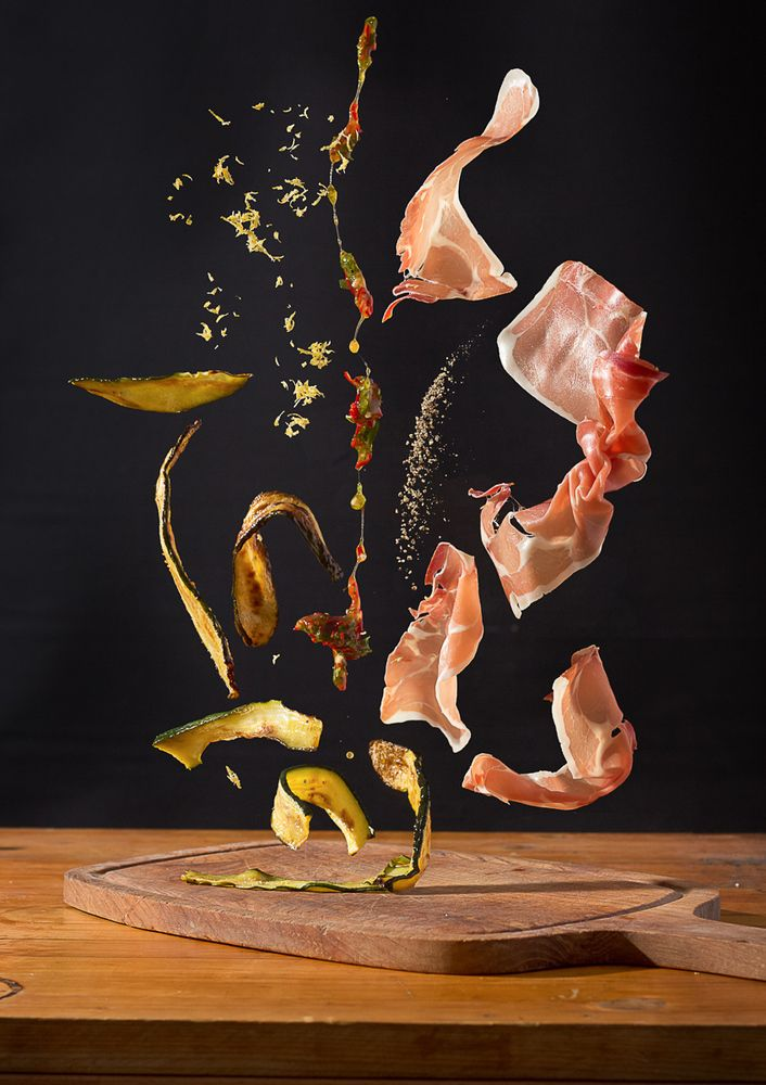 Not the usual food porn: Food Porn At Its Finest: Designer Teams Up With Photographer To Create Delicious Art