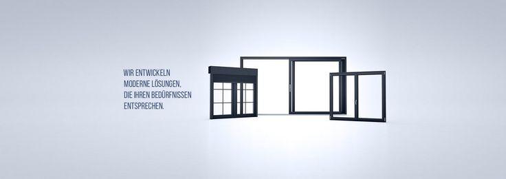 Fenster, Türen und Rollläden aus Kunststoff, Holz und Aluminium der Firma Drutex